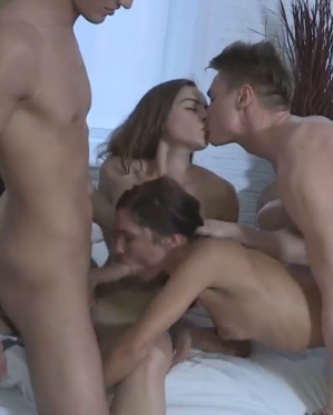Young Sex Parties - Teens Having A Home Fucking Party